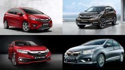Honda Amaze Jazz City Civic Cr V Br V Wr V Discounts Offers For September