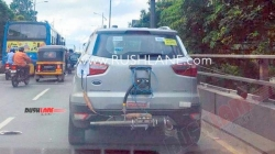 Ford Ecosport Bs6 Spy Pics Testing Ahead Of Debut At Auto Expo Details