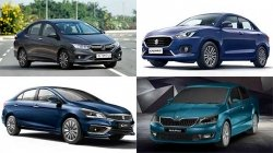 Top Selling Sedans India September Maruti Dzire Honda Amaze Best Sellers Report