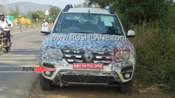 Renault Duster Bs Vi Spotted Testing On Pune Mumbai Highway Spy Pics