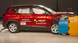 Kia Seltos Crash Test Results 5 Stars At Ancap Crash Testing Video Details