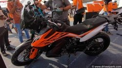 Ktm 790 Adventure Showcased At India Bike Week Features Specs Details