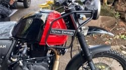 Royal Enfield Himalayan Bs6 Spied Without Disguise Details Specifications And More