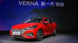 Hyundai Verna Facelift Model Unveiled In Russia India Bound Later This Year
