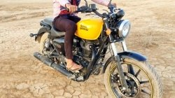 Royal Enfield Meteor 350 Spied With Yellow Tank Twin Pod Instrument Cluster And More