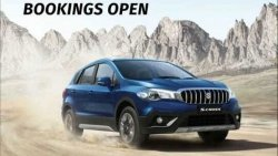 Maruti Suzuki S Cross Bs6 Bookings Open At Rs 11000 Ahead Of India Launch