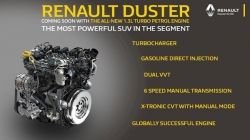 Renault Duster Turbo Petrol Engine Teased Ahead Of Launch Specs Features Details