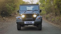 New Mahindra Thar Spy Pics Spotted Testing Ahead Of Unveil Details
