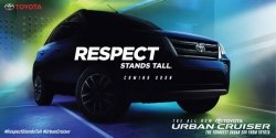 Bookings For The All New Toyota Urban Cruiser Will Commence By The End Of August 2020