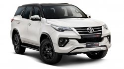 Toyota Fortuner Trd Launched In India Price Rs 34 98 Lakh Specs Features Details