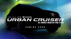 Toyota Urban Cruiser Compact Suv Image Revealed Ahead Of India Launch Details Specifications
