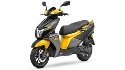 Tvs Ntroq 125 Race Edition In Yellow Paint Scheme Launched Price Rs 74365 Specs Features Details