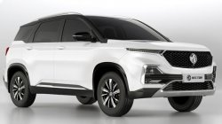 Mg Hector Facelift Spotted Testing In Vadodara Details Specifications
