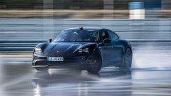 World Drifting Record Porsche Taycan Ev 55 Mins 42 Kilometre Details