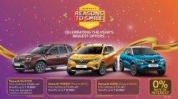 Renault Car Discounts Year End Benefits December Offers Kwid Triber Duster Models Details