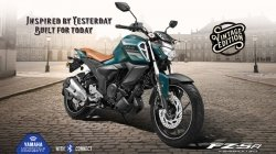 Yamaha Fzs Fi Vintage Edition India Launch Price 1 09 Lakh Specs Features Details