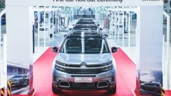 Citroen C5 Aircross Rolls Out Of Production In India Ahead Of Unveil Next Month Details