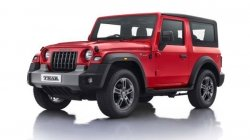 Mahindra Thar Without Infotainment Display At Dealerships Supply Problem Details