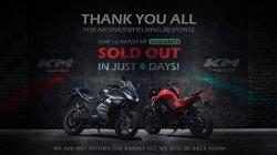 Kabira Electric Bikes Km4000 Km3000 Sold Out 4 Days 5000 Units