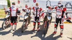 Andalucia Rally 2021 Hero Motosports Finishes 4th Overall In The Road To Dakar Rally Details