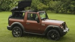 Mahindra Thar New Base Variant In The Works With New Engine Specs Other Details
