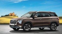 Hyundai Alcazar India Launch Price Rs 16 30 Lakh 7 Seater Panoramic Sunroof Avaliable