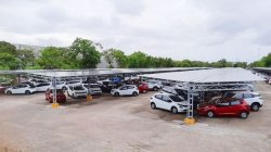India Largest Solar Car Park In Pune Setup By Tata Motors 86 Lakh Kwh Electric Per Year