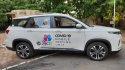 Mg Motor Converts The Hector Plus Suv Into Covid 19 Mobile Testing Units Read More To Find Out