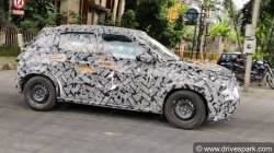 Citroen Cc21 Spy Pics Compact Suv Spotted Testing In Bangalore Ahead Of India Launch