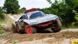 Dakar Rally 2022 Audi Rs Q E Tron Unveiled For Rally Race Battery Capacity Specs Details