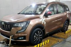 Mahindra Xuv700 Design Leaked Ahead Of India Launch Large Taillamps Headlamps Details