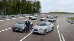 Mercedes Benz Electric Car Range 1000km Plans Complete Electrification By 2030