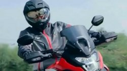 Honda Nx200 Teased Ahead Of Launch Budget Adv Tourer From Honda Launching Soon