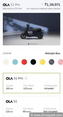 Ola Electric Scooter Portal To Open On November 1 Pre Bookings Open
