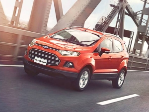 Ford Launches EcoSport Platinum Edition Priced At Rs 10.39 Lakh