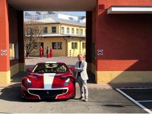 Buying Out The Competition — Horacio Pagani Shows Off His Stunning Ferrari F12tdf