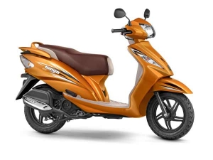 2017 TVS Wego With BS-IV Engine Launched; Now Available In Two New Colours