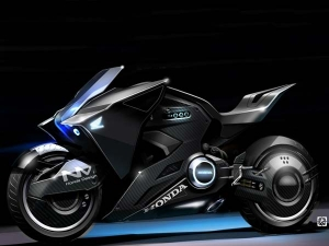 Futuristic Honda NM4 Vultus To Star In 'Ghost In The Shell' Movie