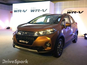 Honda WR-V Launched In Bangalore; Prices Start At Rs 7,90,500
