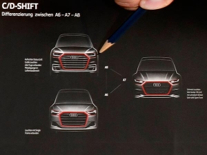 First Official Sketch Of 2018 Audi A6, A7 And A8 Revealed — New Generation Unleashed!