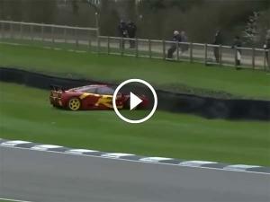 Pink Floyd Drummer Crashes His McLaren F1 GTR — Comfortably Numb?