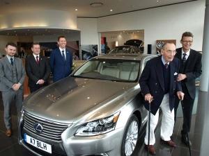 Lexus Celebrates Loyal Customer's 100th Birthday With Bespoke LS