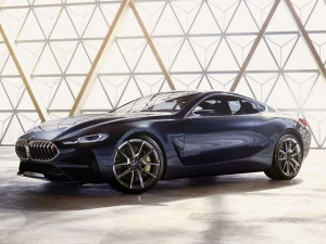 BMW 8 Series Concept Official Images Leaked Ahead Of Reveal