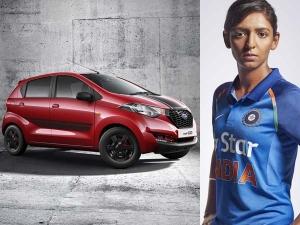 Nissan Gifts Datsun redi-Go Sport To Cricketer Harmanpreet Kaur