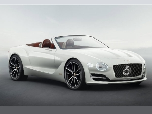 Bentley Electric Sportscar Coming In 2019 Along With Three Plug-In Hybrids
