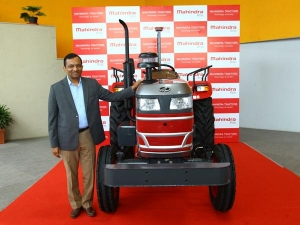 Mahindra's First-Ever Driverless Tractor Showcased In India