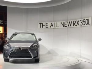 2017 Los Angeles Auto Show: Lexus RX L Revealed