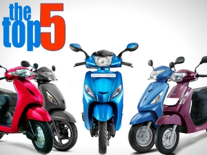 Top 5 Scooters In India Based On Mileage Delivered