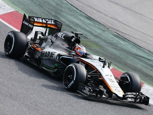 Finally Force India Debut Their 2015 Formula One Car!