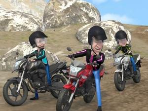 Video: Betel Nuts Ride The Honda CB Trigger!